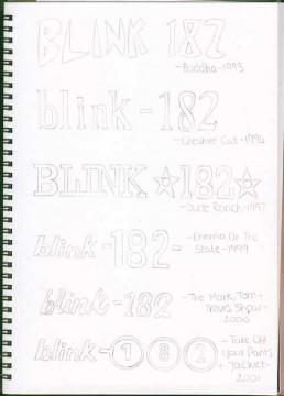 blink - 182 logo