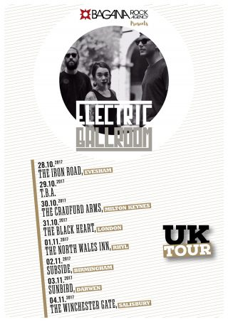 ELECTRIC BALLROOM Tour in UNITED KINGDOM da fine ottobre!