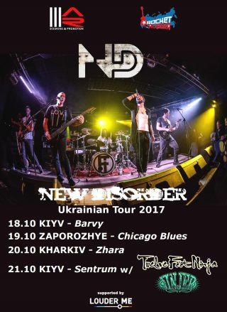 New Disorder video di Curtain Call e tour in Ucraina