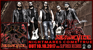 SERIAL VICE (Heavy metal from Italy) sign with Sliptrick Records