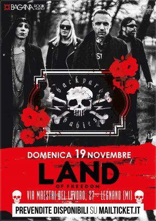 BACKYARD BABIES Unica data in Italia il 19 novembre a Milano