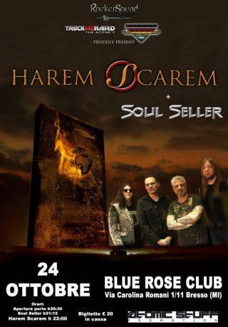 Harem Scarem + Soul Seller una notte da collezionisti!