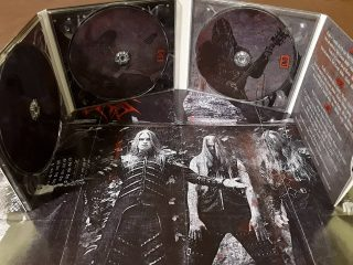 KHORS - Following The Years Of Blood II 2CD+DVD Deluxe Digipak Edition + fold out poster