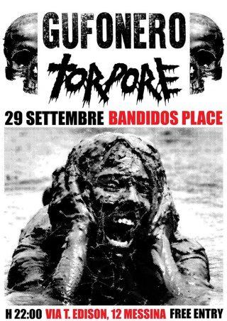 Torpore & Gufonero Live Bandidos Place Messina 29/09/17