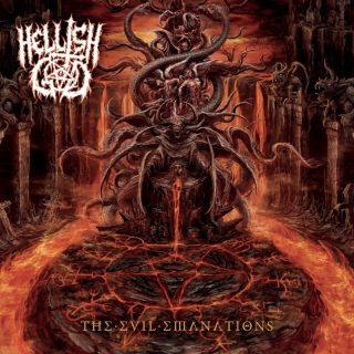HELLISH GOD presentano Anti-Cosmic Decree tratta dal loro debutto The Evil Emanations in uscita l'8 gennaio 2018 per Everlasting Spew Records!