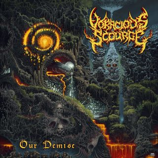 VORACIOUS SCOURGE Harbinger Of Our Own Demise from upcoming crushing EP Our Demise