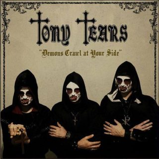 TONY TEARS Demons Crawl At Your Side in uscita per Minotauro RecordsBlood Rock Records