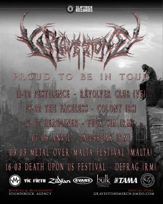 Gravestone Proud to Be in Tour 2018