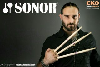 Giovanni Noè (Sailing To Nowhere) Nuovo ENDORSER per la prestigiosa SONOR DRUMS
