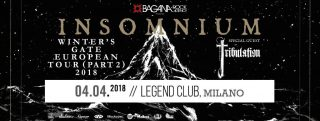 WINTERS GATE TOUR Insomnium & Tribulation Legend Club Milano