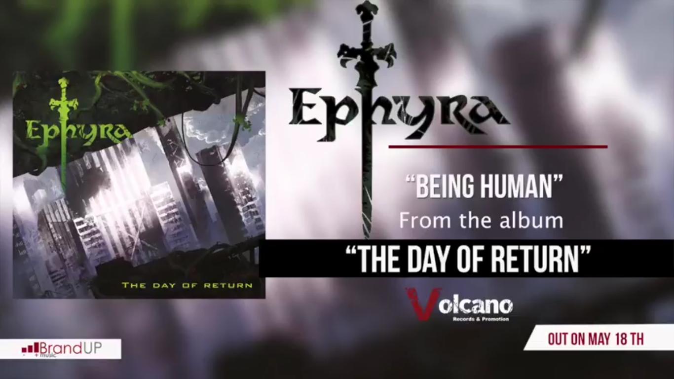 Being Human, il primo singolo degli Ephyra è ora disponibile online