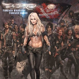 DORO – svela copertina e titolo del nuovo album in studio Forever Warriors, Forever United