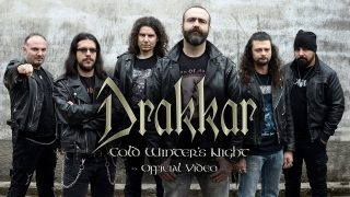 I DRAKKAR presentano il primo video tratto da Cold Winter's Night