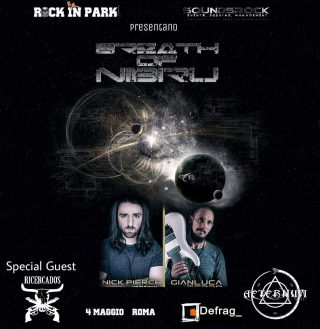Breath of Nibiru - show nella capitale in collaborazione con Rock in Park