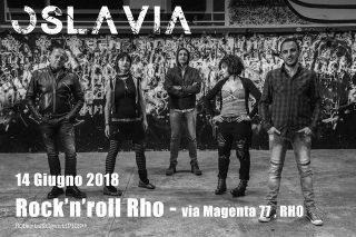 Oslavia il 14 Giugno al Rock'n'Roll di Rho (MI)